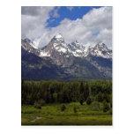 The Grand Tetons Postcard
