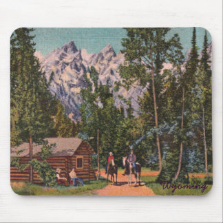 The Grand Tetons - Wyoming Mouse Pad