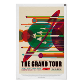 The Grand Tour of Space Poster