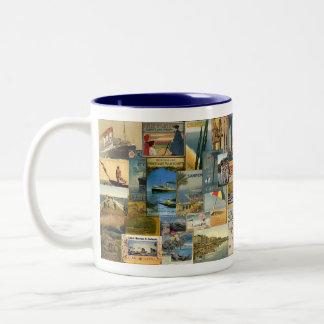 The Grand Tour Two-Tone Coffee Mug