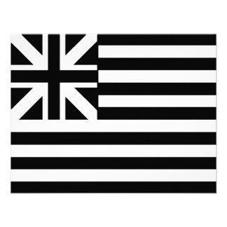 The Grand Union Flag Personalized Announcements