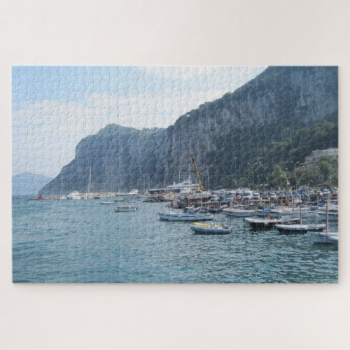 The Grande Marina at Capri Italy 1000 Pieces Jigsaw Puzzle
