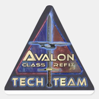 The Grandeur Project Tech Team Triangle Sticker