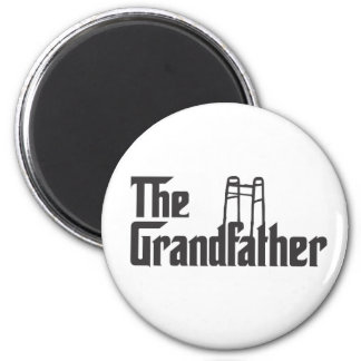 The Grandfather 2 Inch Round Magnet