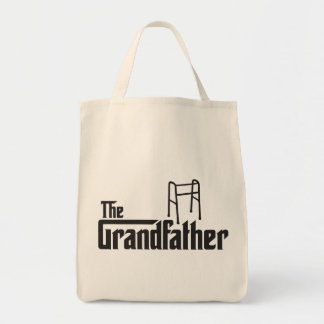 The Grandfather Grocery Tote Bag