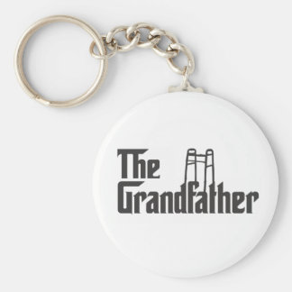 The Grandfather Basic Round Button Keychain