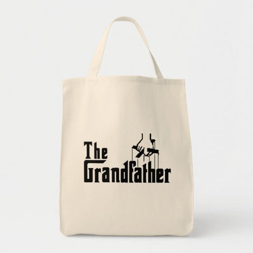 The Grandfather Gifts for Granddad Grocery Tote Bag