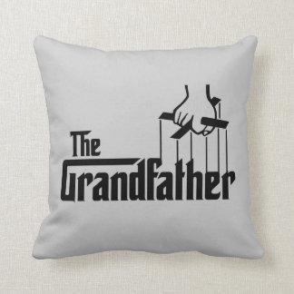 The Grandfather Throw Pillows