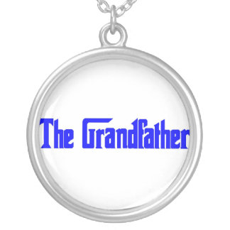 The Grandfather Round Pendant Necklace