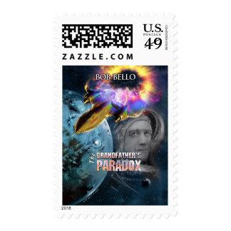 The Grandfather's Paradox Postage Stamps