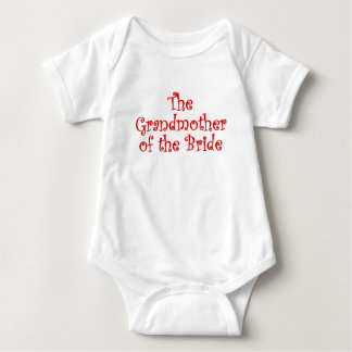 The Grandmother of the Bride Tee Shirts
