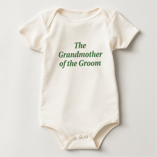 The Grandmother of the Groom Baby Creeper