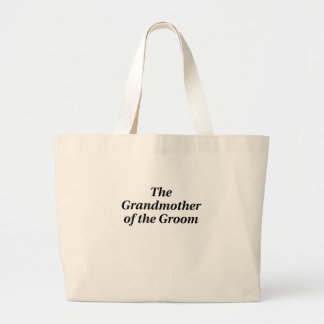The Grandmother of the Groom Canvas Bags