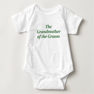 The Grandmother of the Groom Shirts