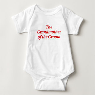 The Grandmother of the Groom Tees