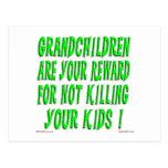 The Grandparent Reward Postcard