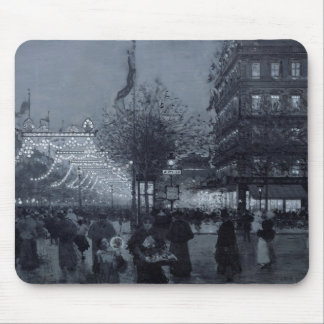 The Grands Boulevards, Paris Mouse Pad