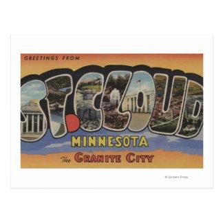 The Granite City - Large Letter Scenes Postcard