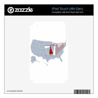 The Granite State Skin For iPod Touch 4G