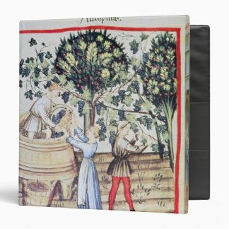 The Grape Harvest, 13th century Binder