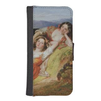 The Grape Harvest iPhone SE/5/5s Wallet Case