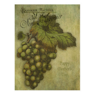 The Grapes of Worth for Mother Postcard