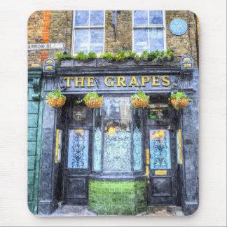 The Grapes Pub London Art Mouse Pad