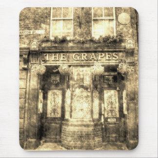 The Grapes Pub London Vintage Mouse Pad