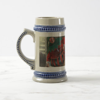 """THE GRAPHIC """"TWO FOOLS"""" I (1909) BEER STEIN"""