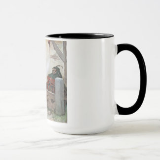 "THE GRAPHIC ""TWO FOOLS"" II (1909) MUG"
