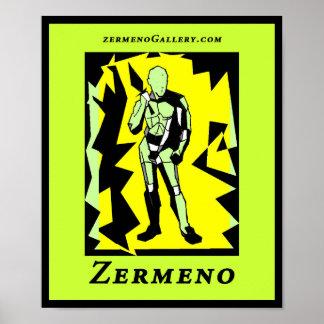 """The Graphic Warrior"" One Designed by Zermeno Print"