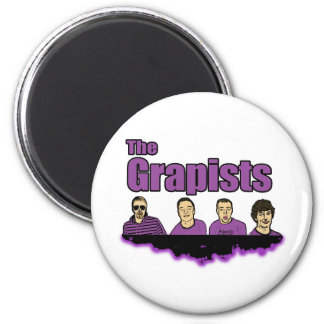 The Grapists 2 Inch Round Magnet