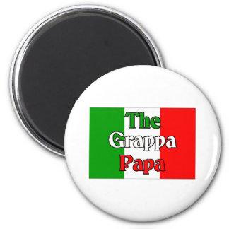 The Grappa Papa Magnet