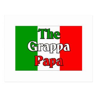 The Grappa Papa Postcard