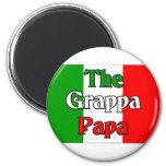 The Grappa Papa Refrigerator Magnet