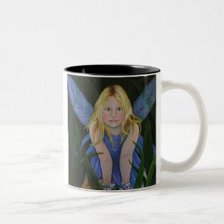 The Grass Fae Two-Tone Coffee Mug