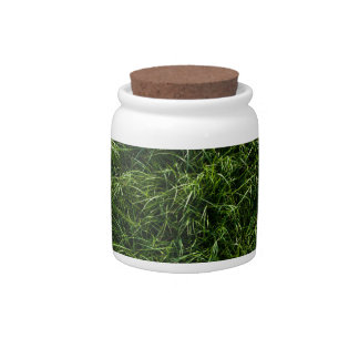 The Grass is Always Greener Candy Jar