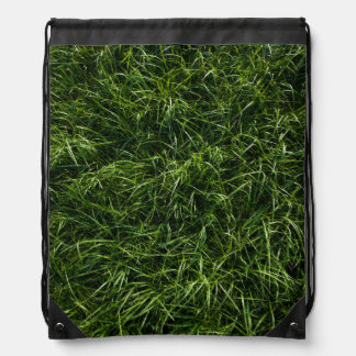 The Grass is Always Greener Drawstring Backpack