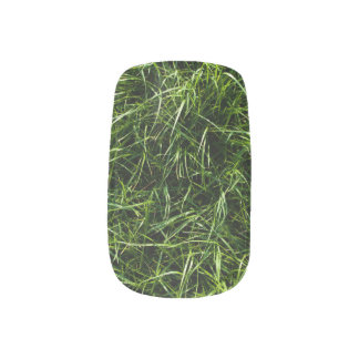 The Grass is Always Greener Minx Nail Wraps