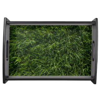 The Grass is Always Greener Serving Tray