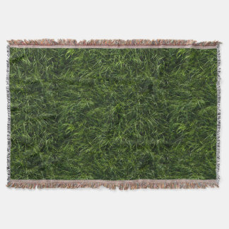 The Grass is Always Greener Throw Blanket
