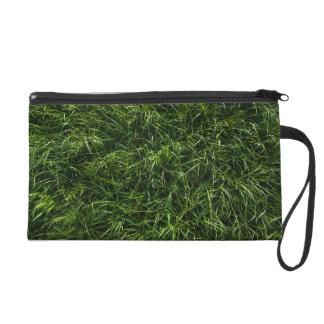 The Grass is Always Greener Wristlet