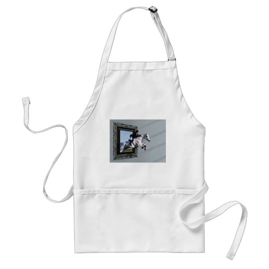 The Grass Is Greener........ Adult Apron