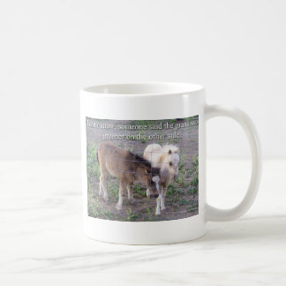 The Grass is Greener Coffee Mug