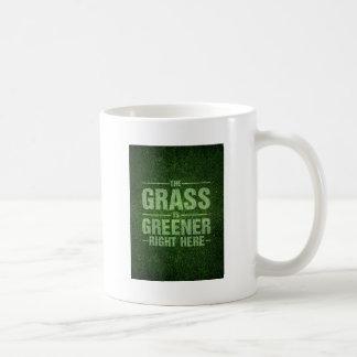 The Grass Is Greener Coffee Mug