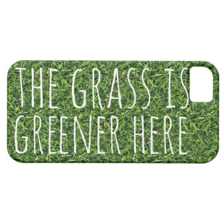 The Grass is Greener Here iPhone SE/5/5s Case