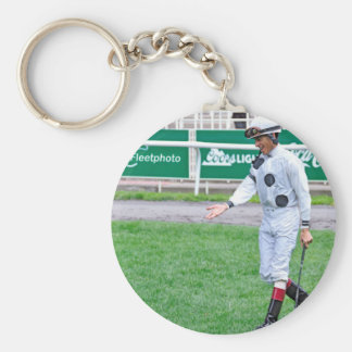 The Grass is Greener Keychain