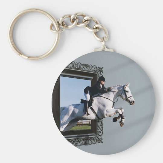 The Grass Is Greener........ Keychain