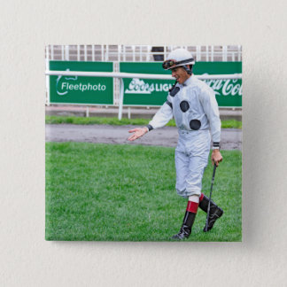 The Grass is Greener Pinback Button