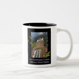The Grasshopper Crosses Two-Tone Coffee Mug